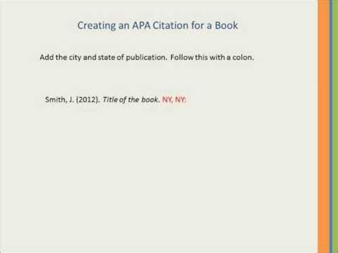 APA Style Blog: How to Cite an Illustrated Book
